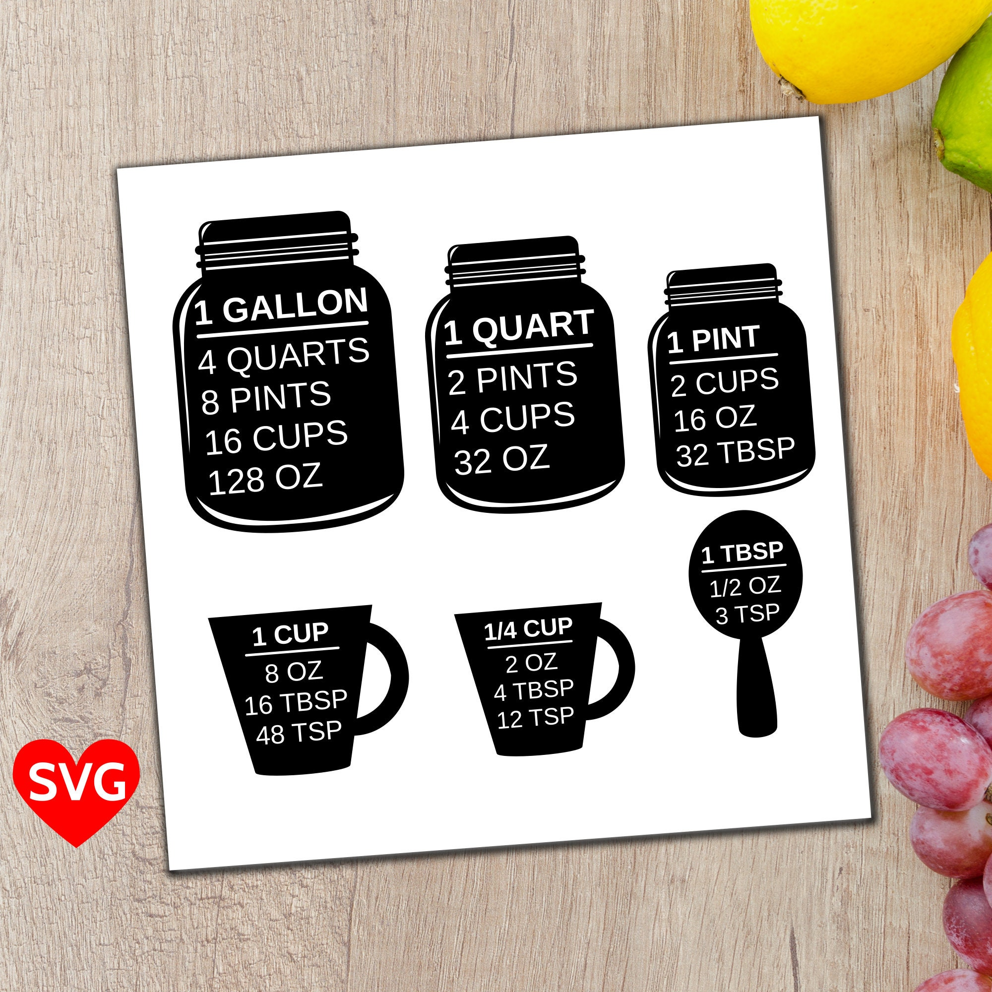 Measuring cups svg file measuring cup and spoon svg zoom geenschuldenfo Choice Image