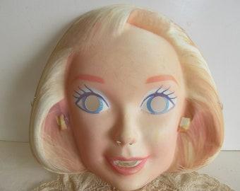 Marilyn Monroe Halloween Mask 1960s Marilyn Monroe Face Mask Collectible Wall art Marilyn Monroe 3D Picture  60s Halloween Masks
