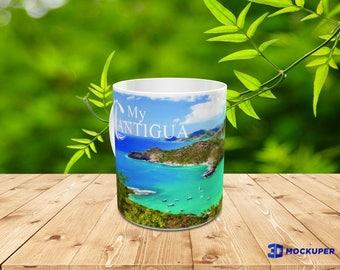 Antigua Caribbean Beach Coffee Mug