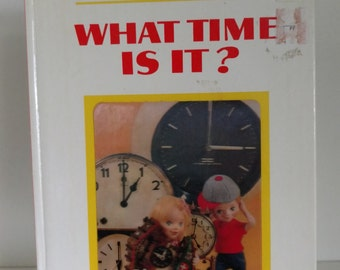 1968 Puppet StoryBook: What time is it By Tadasu Izawa