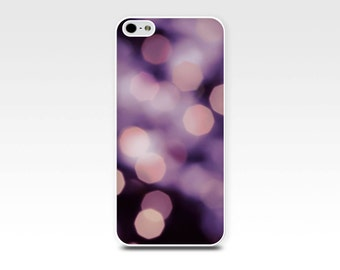 bokeh iphone case 5s iphone 6 case abstract iphone case fairy lights iphone 4 case 5 fine art iphone case 4s purple iphone pink girly case