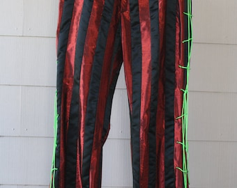 Rock 'n Roll Mad Hatter Cosplay Pants