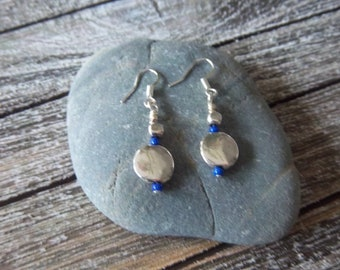 Midnight Sky - Dangle Earrings (dark blue)