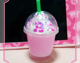 Butterfly Dreams Frappuccino necklace or keychain