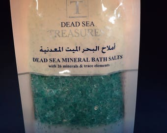 Scented Dead Sea Bath Salts 8oz