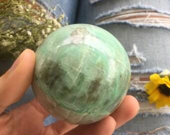 garnierite sphere ,  garnierite orb, garnierite ,  healing stone, love stone