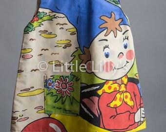 Noddy Girls Pinafore Dress - Age 2-3 years