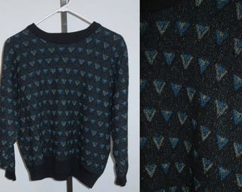 Vintage Tundra Canada Sweater ~ 1990's Geometric Wool Sweater ~ Vintage Sweater ~ Vintage Tundra ~ Medium