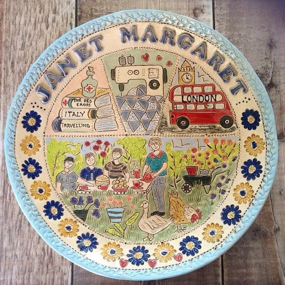 Handmade  Personalised Ceramic Bowl