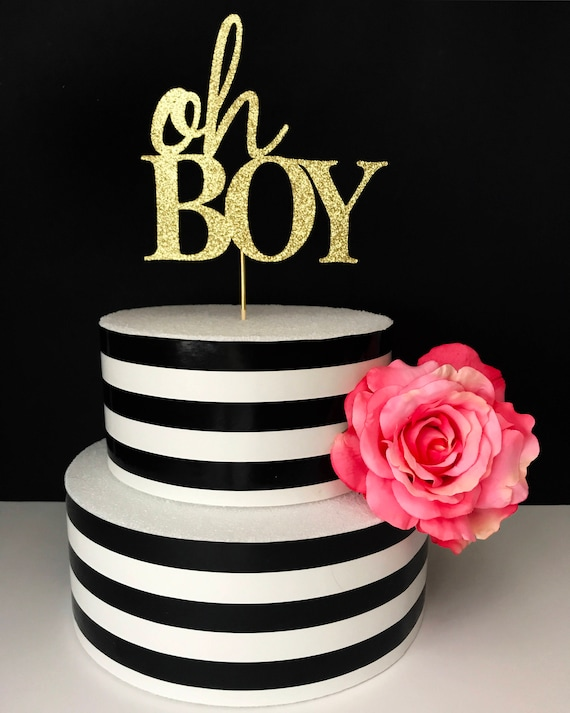 Oh boy cake topper its a boy cake toppers baby shower cake