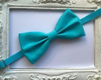 Bow tie blue turquoise - lagoon man