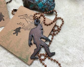 Bigfoot Necklace
