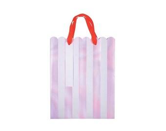 Iridescent Stripe Gift Bags, Party Supplies, Meri Meri