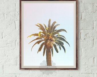 Palm Tree Print, tropical decor, palms, palm, california art, summer decor, modern print, palm trees photo, Palm Tree Photography, modern