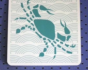 Cancer Zodiac Bumper Sticker