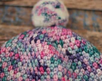Hand Crocheted Beanie 2