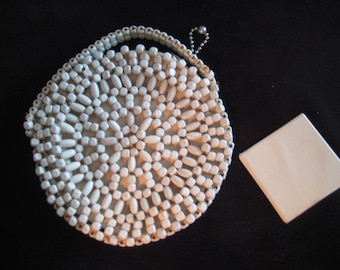 Czech Beaded Change Purse