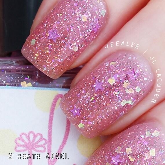 Angel Inspired Angel Purple Jelly Nail Polish