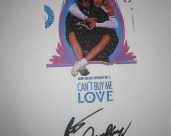 Can't Buy Me Love Signed Movie Film Screenplay Script Patrick Dempsey autographs Classic 80s romantic Comedy film
