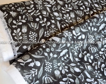 ALPHILD Organic Batiste, Organic Fabric, Apparel fabric, Floral fabric, Cloud9 Organics, light fabric, apparel fabric, summer fabric
