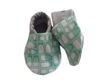 Milk Bottle Baby Shoes