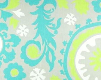 Premier Prints Suzani in Harmony Green Twill Home Decor fabric, 1 yard