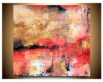 Original Abstract Art, Abstract Paintings, Original Abstract Painting, Wall Art, Large Wall Art, Modern Painting 30X45X2