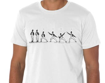 Martial Arts in the British Navy T shirt