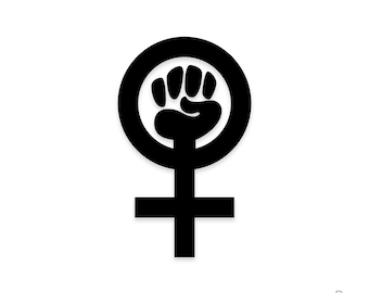 Feminist Sticker, Feminist Decal, Vinyl Decal, Laptop Stickers, Laptop Decal, Feminism Decal, Feminism Stickers, feminist vinyl decal