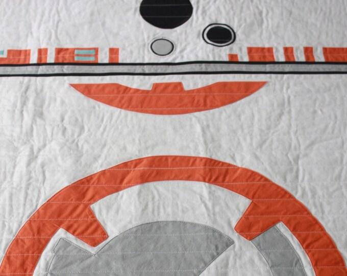 Star Wars baby quilt--BB-8 baby quilt