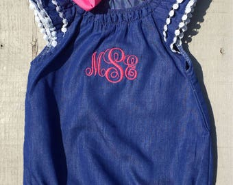 Baby Girls' Clothing, Clothing Set, Monogrammed Baby Gift, Personalized Baby Gift, Girls' Clothing, Baby Girl Clothes, Baby Girl Outfit
