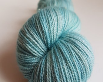 Skein of Superwash Merino - Nylon - Stellina / Fingering / Sock hand - dyed colors Beaubatons