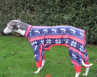 Greyhound Pyjamas Reindeer