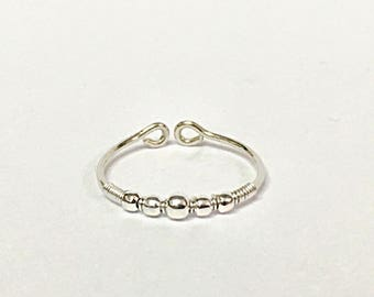 Silver Knuckle Ring, Toe Ring Gold, Toe Ring Band, Mid Knuckle Ring Gold, silver toe ring knuckle rings gold above the knuckle gold toe ring
