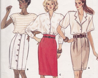 Butterick 6248 Vintage Pattern Womens Skirt in 3 Variations Size 8,10,12 UNCUT