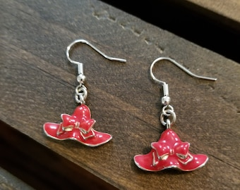 Red Hat Ladies Society Earrings. FREE SHIPPING!! EE25