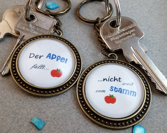 """Key fob """"Mother & daughter"""""""