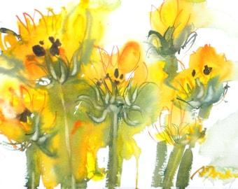 Fresh Pick No.261, 11x15, original watercolor