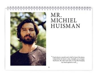 Michiel Huisman Vol.2 - 2018 Calendar