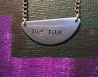 Me too/I'm With You Necklace