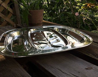 FB Rogers Sterling Silver Meat Tray