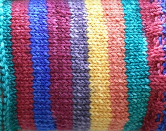 Calamity Janet - Hand Dyed Self-Striping Sock Yarn