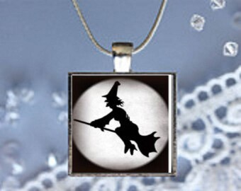 Pendant Necklace Witch