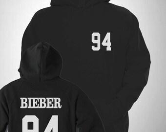 Bieber 94 Varsity Hooded Sweatshirt College Hoody