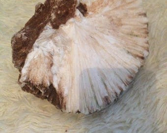 huge scolecite rock, around 150x150mm