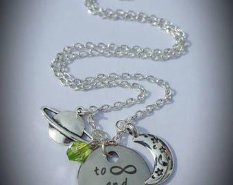 Disney Toy Story Buzz Lightyear inspired necklace