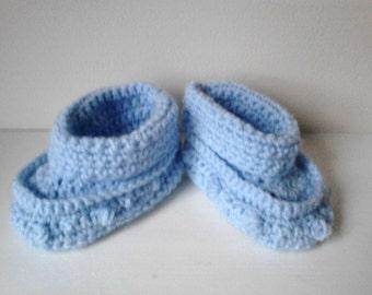 baby boy Crochet boots , boy boots 6-9 months, baby boy boots, crochet boy boots, ready to ship
