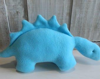 Dinosaur plush, stuffed stegosaurus, toddler boy toy, toddler girl toy, dinosaur baby toy, dinosaur gift ideas, nursery decor, Jurassic