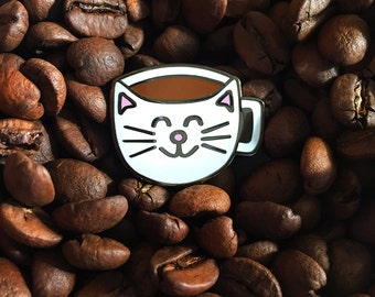 Cattuccino - Hard Enamel Pin