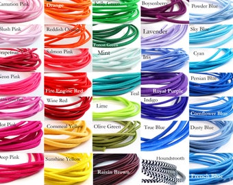 US Seller - 1.00 USD per yard - 2mm Elastic Cord - 5 yards - any colors - perfect size for traveler's notebooks